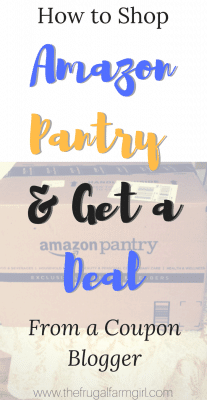 amazon pantry get a deal how to use