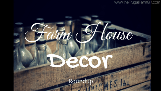 Farm Style Decor Deal Roundup