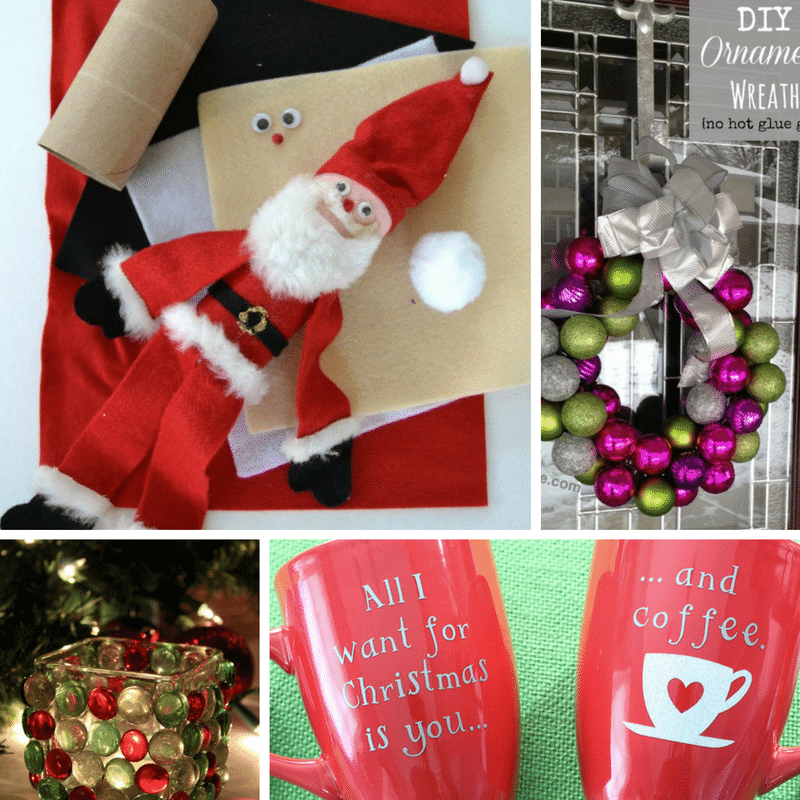 25 Easy Crafts for Christmas in 15 Minutes or Less