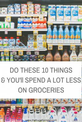 10 Things to Do Now To Spend Less on Groceries