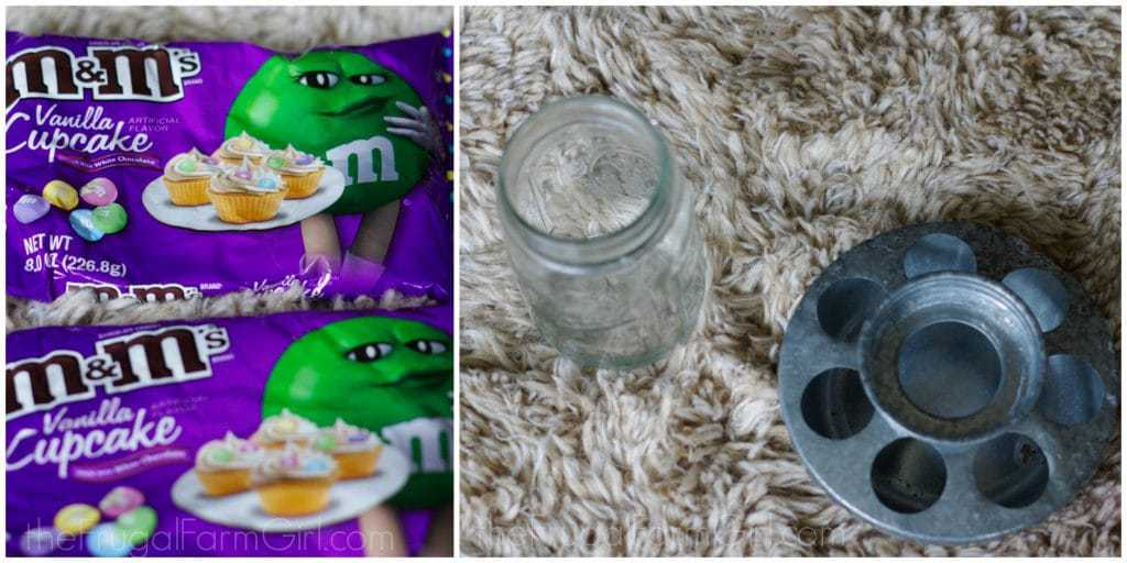 How to make a candy chick feeder for cheap