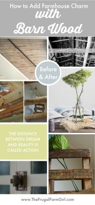 How We Used Barn Beams in our Farmhouse (Our Dining Room Makeover)