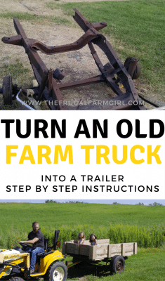 farm truck into a trailer how to