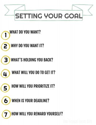 easy tips for setting your goals this year