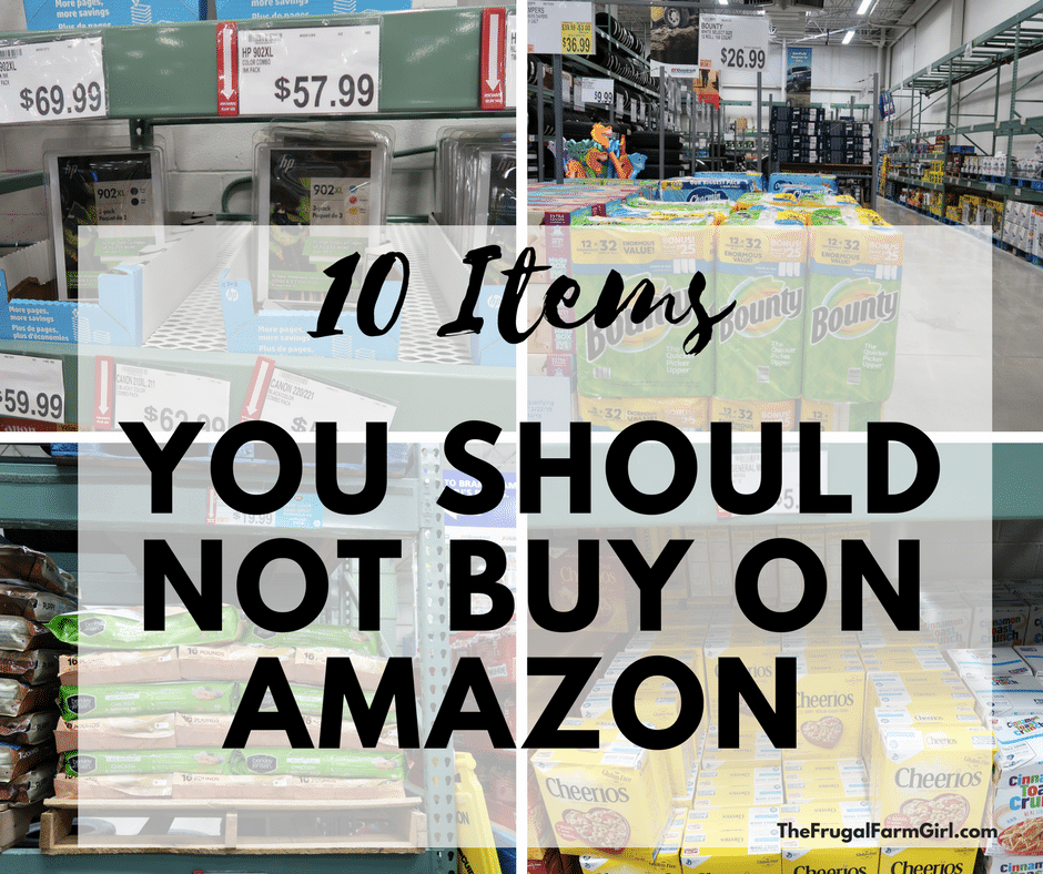 10 Items You Should Not Buy On Amazon