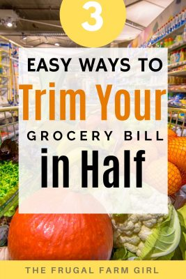 trim your grocery bill in half