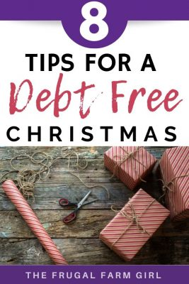 avoid debt for the holiday season