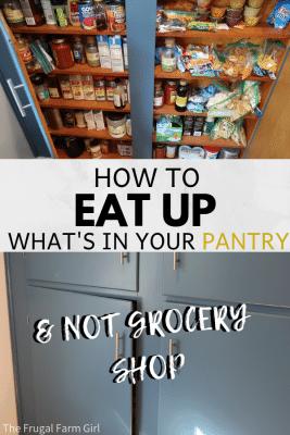 pantry challenge
