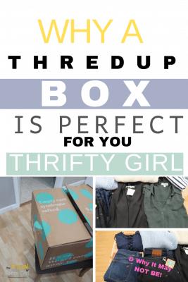 an honest thredup box review goody box