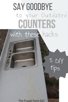 diy kitchen countertop ideas