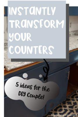 countertop diy ideas