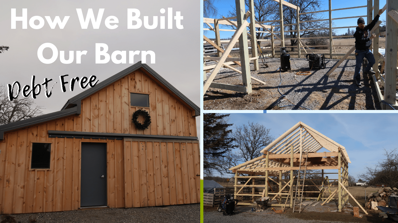 How We Built Our Barn Debt Free