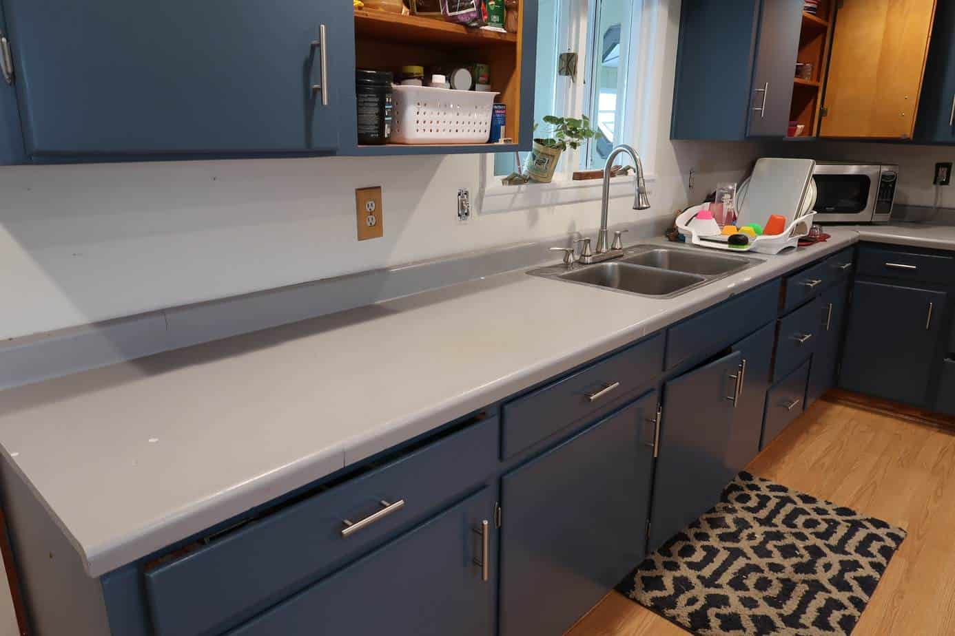 how to update your countertops DIY for cheap on a budget