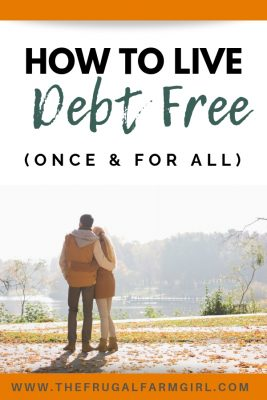 debt free lifestyle tips