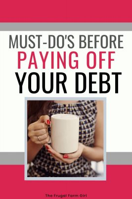 debt free lifestyle