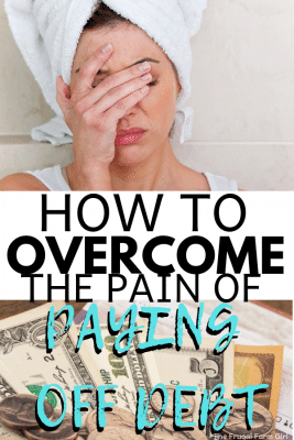 tips to overcome the pain of paying off debt