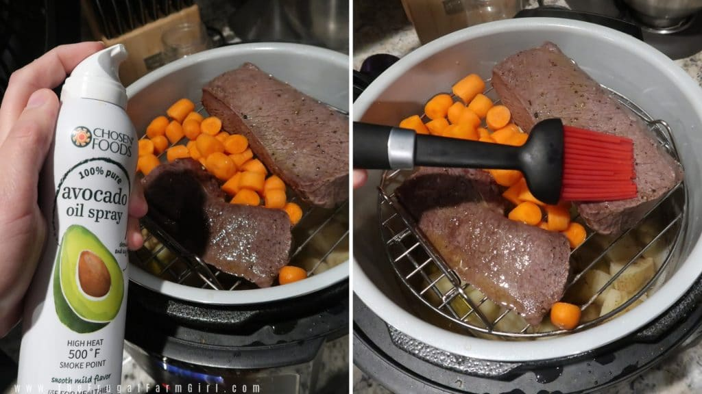 Easy Venison Roast with Veggies Recipe in Foodi Ninja
