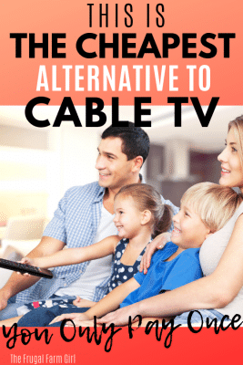 cheapest alternative to cable tv hd tv antenna