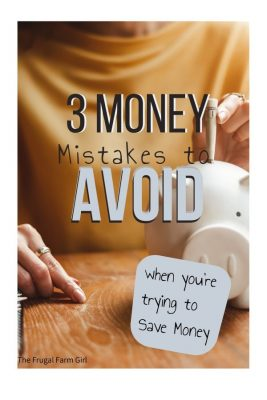 3 money things to not do on a no spend month