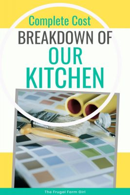 kitchen budget makeover tips