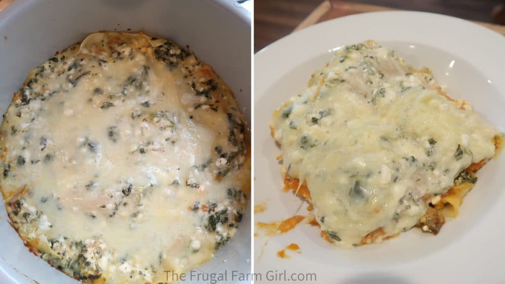 healthy lasagna vegetarian