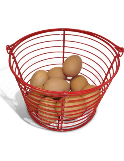 egg box basket