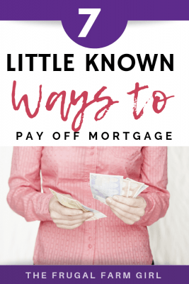 ways to pay off a mortgage