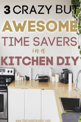 3 Kitchen Makeover Hacks to Save A Load of Time