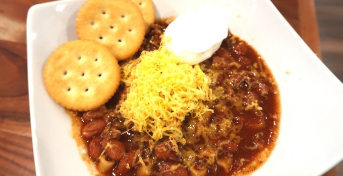 Ninja Foodi Chili Recipe