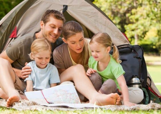 camping frugal items