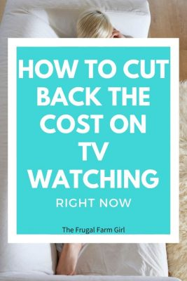 hack to save on tv entertainment costs