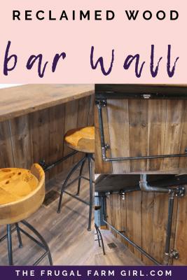 DIY Barn Wall in Farmhouse Kitchen