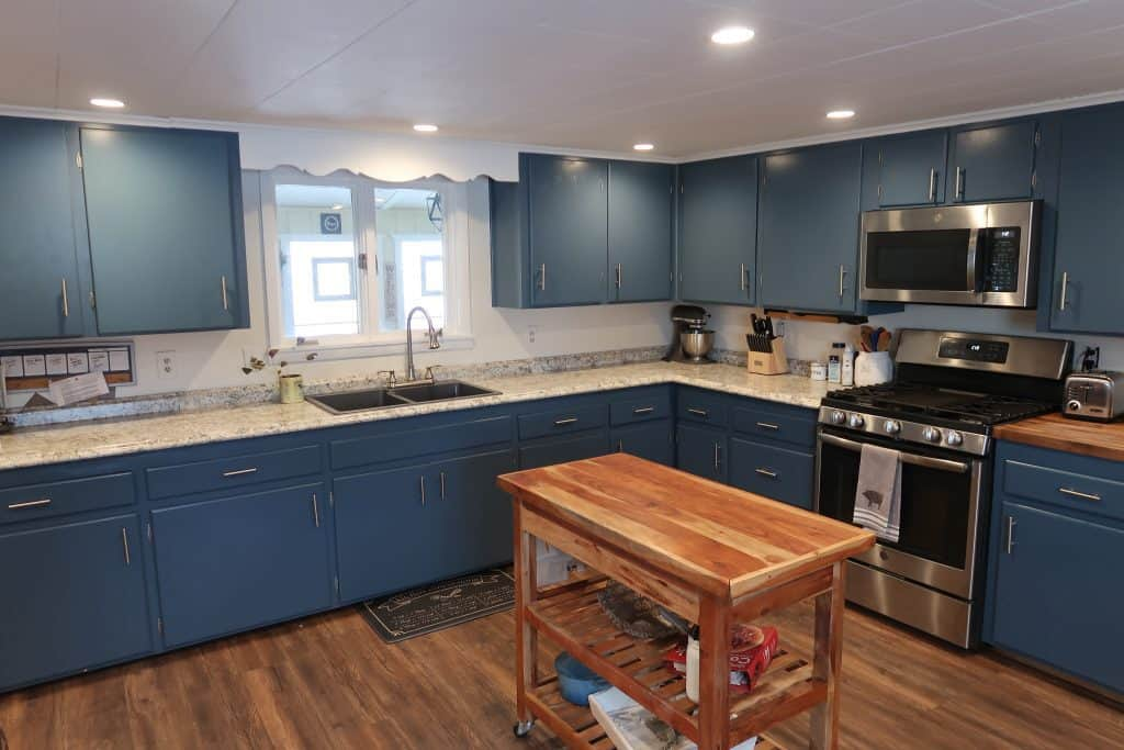 Our DIY Farmhouse Kitchen Makeover Before & After