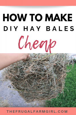 make diy hay bales