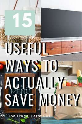 15 Creative Ways to Start a Frugal Living Lifestyle