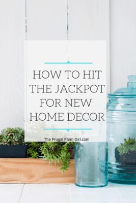 how to get home decor on clearance