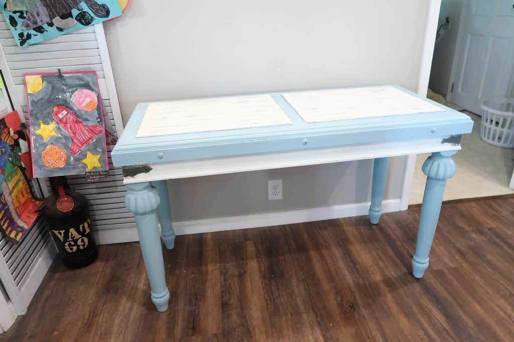How I Transformed My Thrift Store Table with Chalk Paint