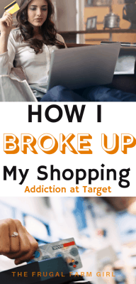 how to break up with your shopping addiction at target