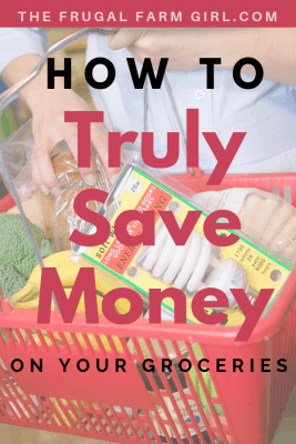 save money on your groceries