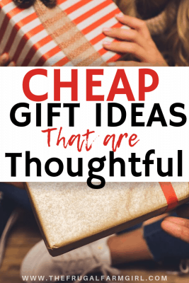 cheap gifts that are thoughtful