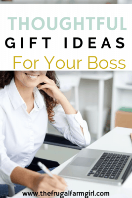 thoughtful gift ideas for your boss