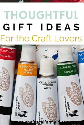 5 Fun Arts & Crafts Christmas Gifts
