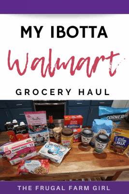 My Walmart Deal Trip Using Only Ibotta