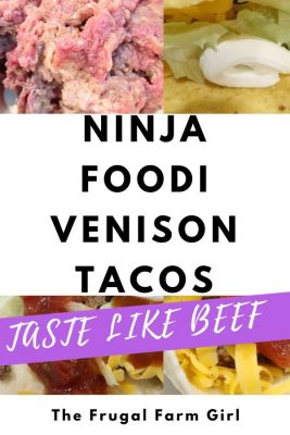 Easiest Venison Tacos Recipe in a Ninja Foodi
