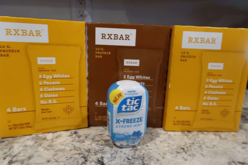 Score Almost Free RX Protein Bars and Tic Tac Mints!