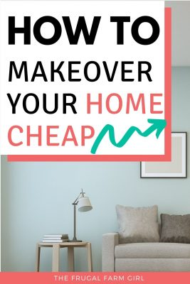 makeover your home for cheap