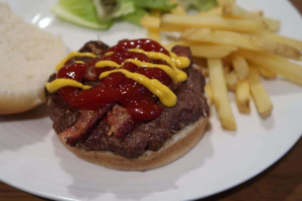 Venison Bacon Burgers in the Ninja Foodi