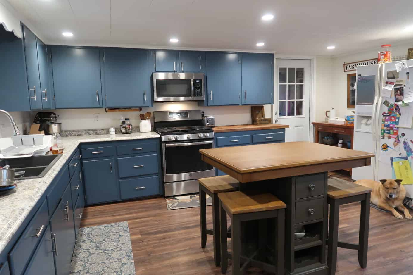 kitchen farmhouse makeover