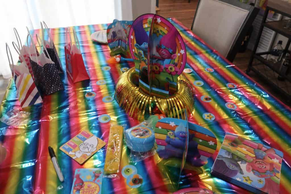 How to Throw a Trolls Birthday Party for Cheap