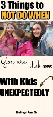 stuck home with kids